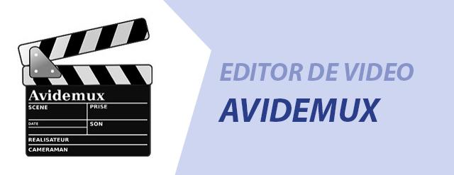avidemux editor de video logo