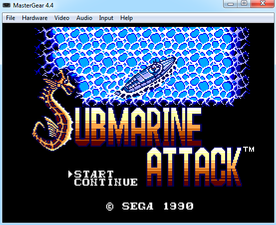 mastergear 4.4 emulando submarine attack