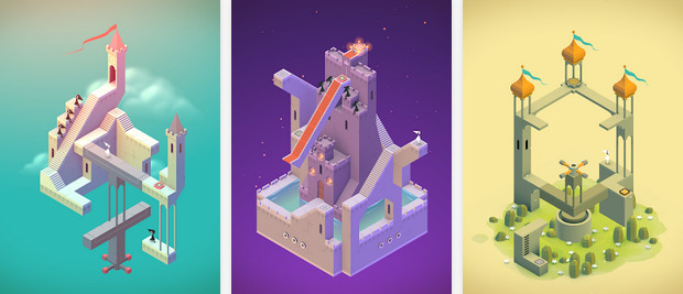 Arquitectura imposible en Monument Valley