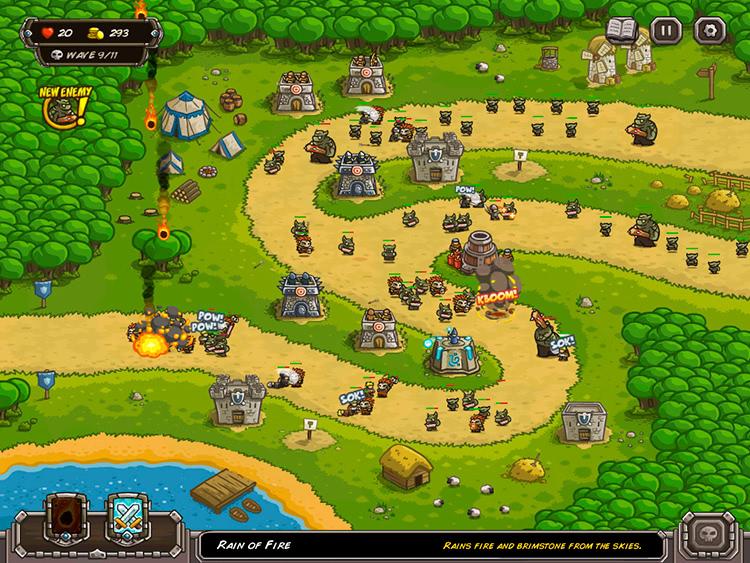 kingdom rush defender la torre