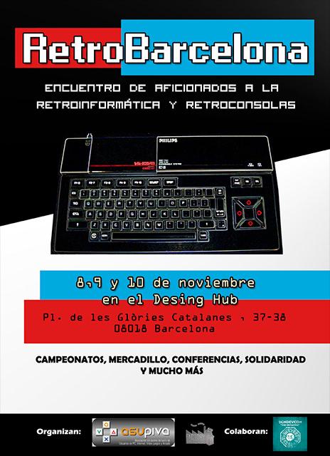 retrobarcelona 2013 cartel