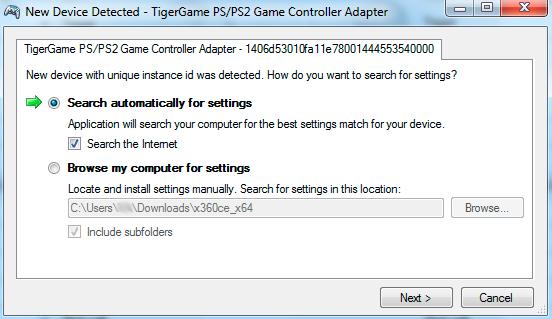 x360ce settings